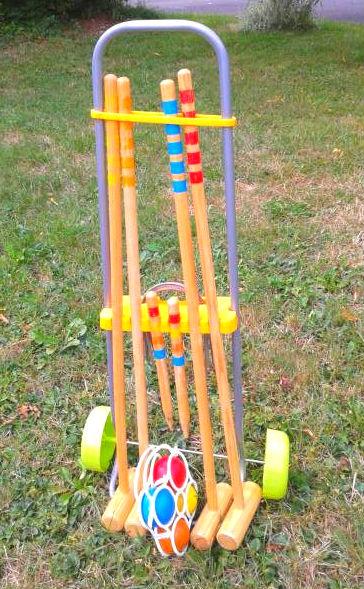 Règle du Croquet  Règles du jeu dextérieur le croquet ~ Jeux De Croquet En Bois