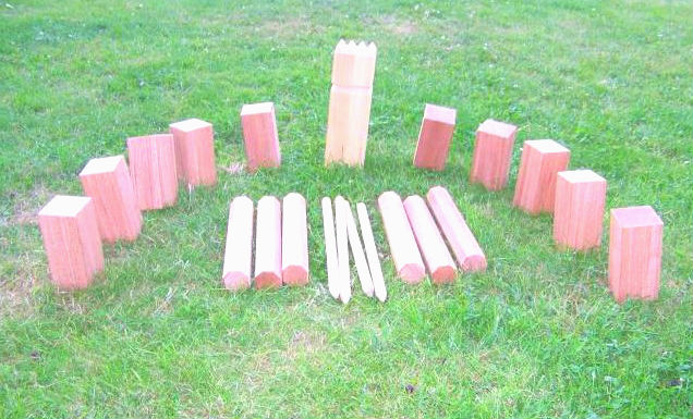 R gle kubb for Jeu adulte exterieur