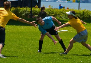 Regle ultimate frisbee for Jeu adulte exterieur
